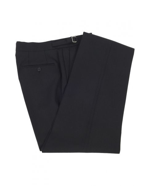Herringbone Trousers - Pleated Front