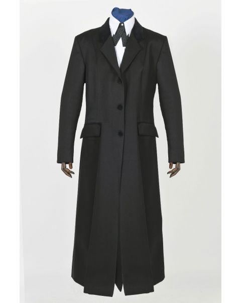 Ambassador Hunter Overcoat - Velvet Trim