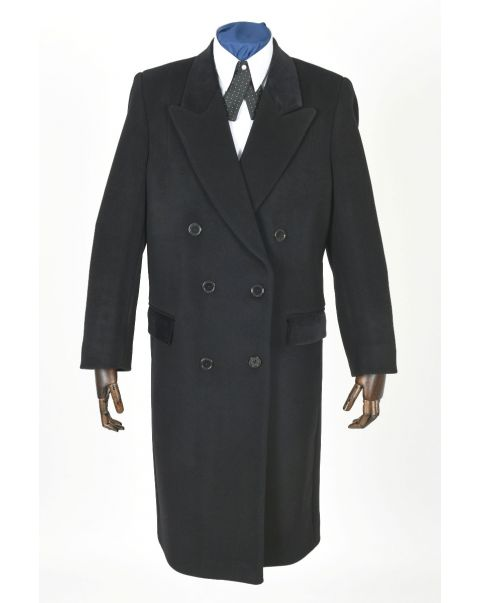 Double Breasted Overcoat