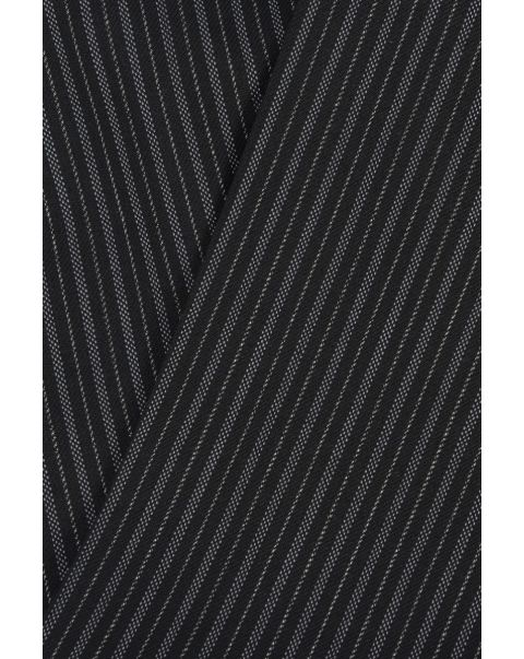 Number One Stripe Plain Front Trousers