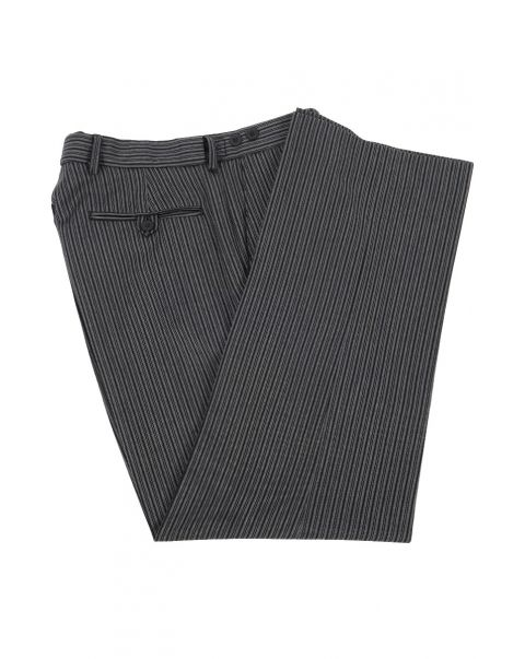 Number Two Stripe Trousers - Plain Front