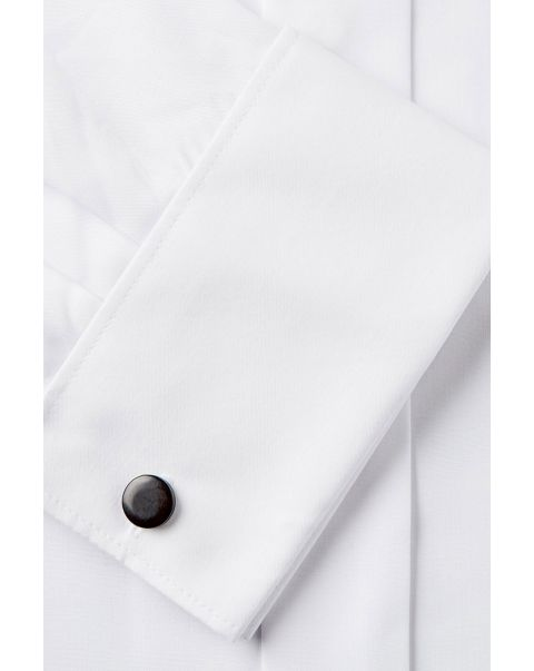 Wing Collar Double Cuff Shirt