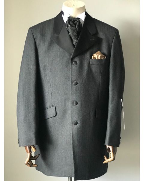 Charcoal Edward Jacket - Chest 42