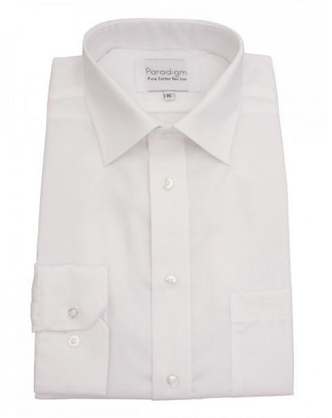 Classic Collar Single Cuff Pure Cotton Shirt