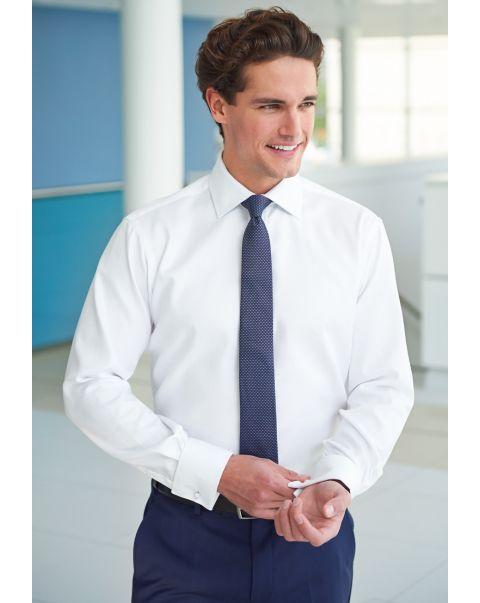 Prato Slim Fit Herringbone Shirt