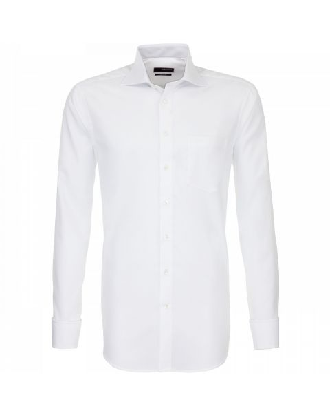 Cut Away Collar Single Cuff Shirt