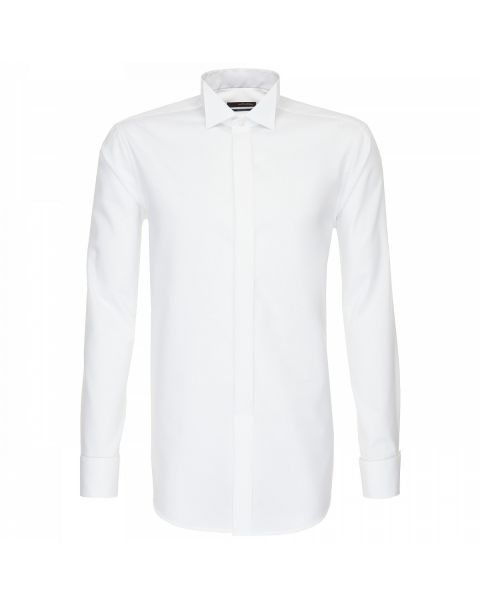 Wing Collar Single Cuff Shirt